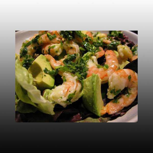 Healthy Shrimp and Avocado Salad for weight loss!