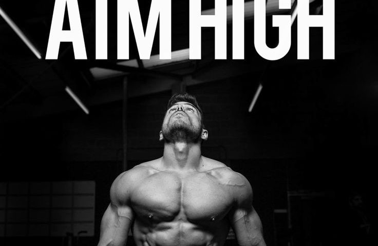fitness motivation: AIM HIGH