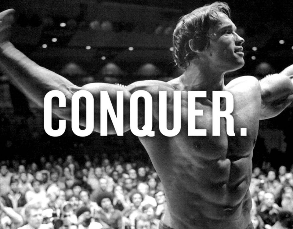 Fitness Motivation - CONQUER by Arnold
