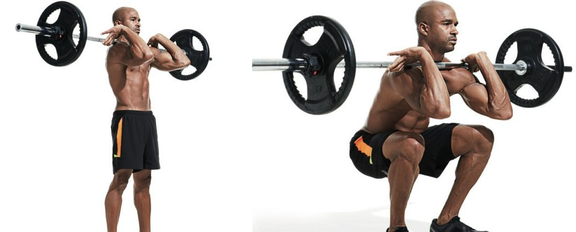 Front Barbell Squat Benefits And Grips To Perform The Front Squat