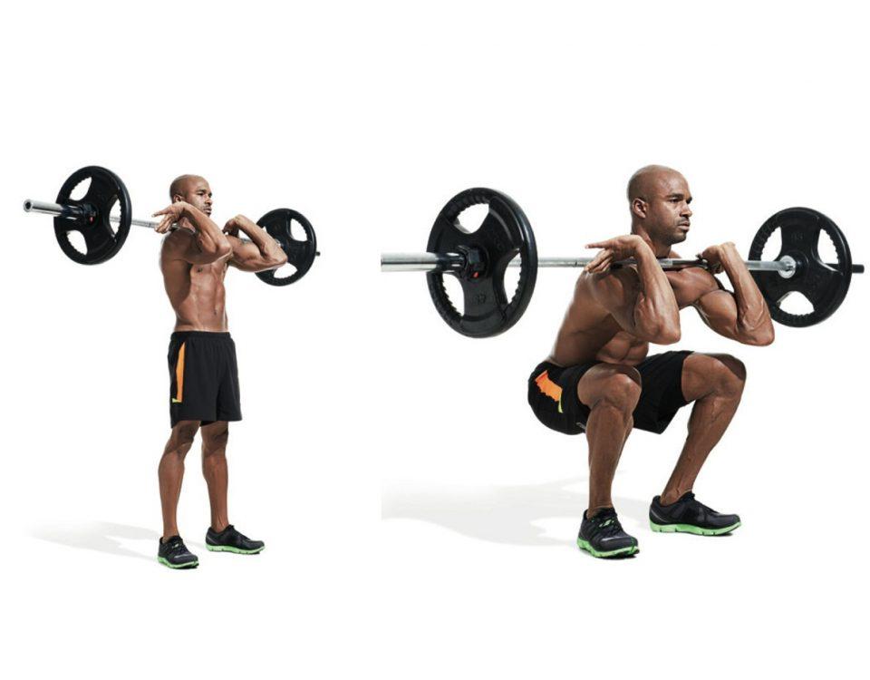 Front Squat - Complete Guide - FitnessMonster.net