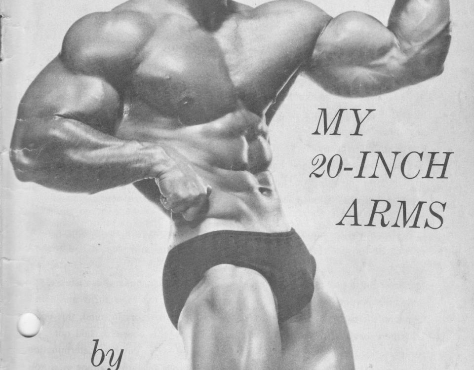 Larry Scott bodybuilder diet