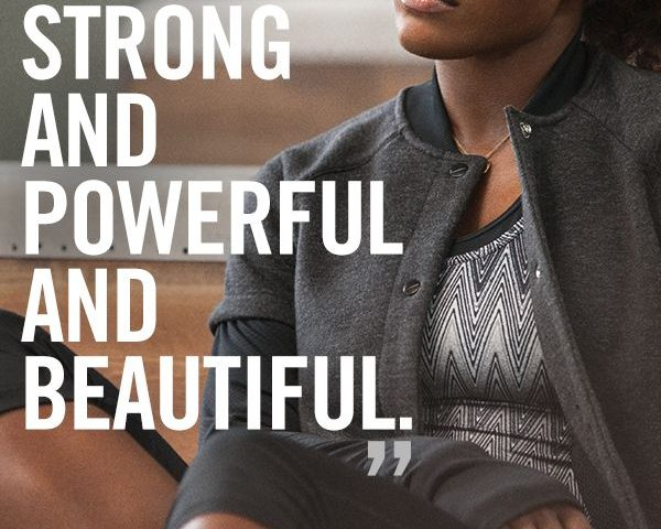 You can become strong and powerful and beatiful