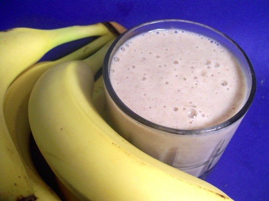 Banana and Wheat Germ Smoothie