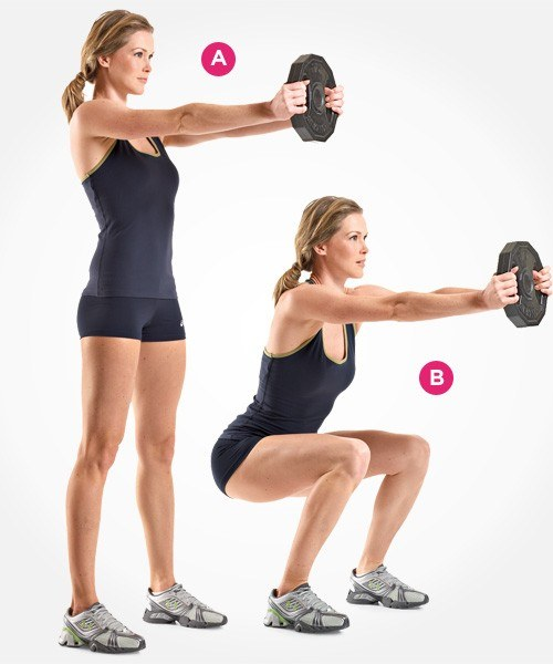 Squat with weights