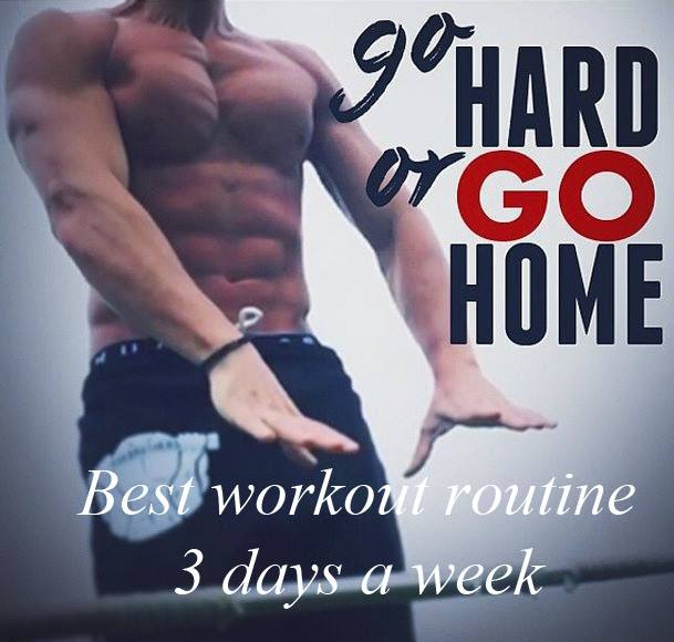 Best workout routine 3 days a week for Bulking up - after 6 months in Gym