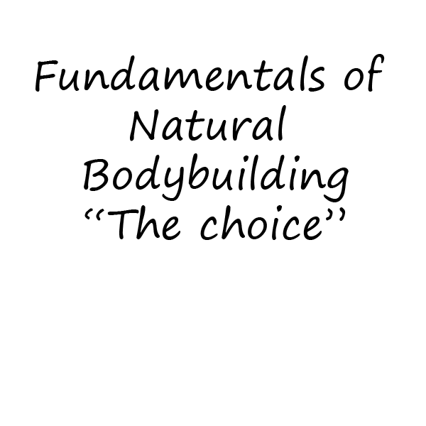 Fundamentals of Natural Bodybuilding