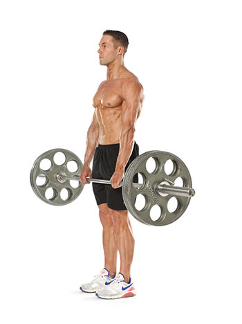 romanian deadlift starting position
